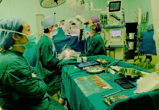 中国の蘇州大学病院でのリンパ浮腫手術