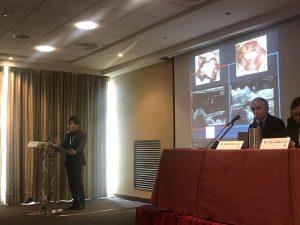 イタリアの国際学会にて講演時