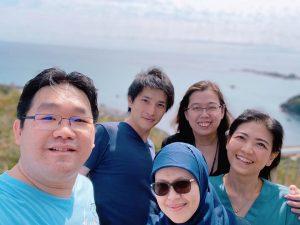 イギリス・インドネシアからの見学