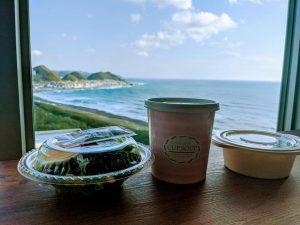 韓国からの見学 軽食