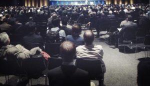 ボストン 第69回アメリカ手外科学会の会場様子 Audience of the lecture at the BOSTON 69th ANNUAL MEETING OF THE ASSH