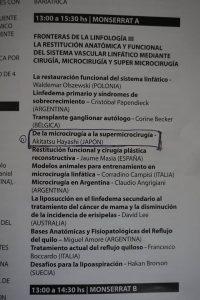 プログラム: 南米静脈学会にて brochure at the ⅨCONGRESO DEL FORUM VENOSO LATINOAMERICANO@Buenos Aires
