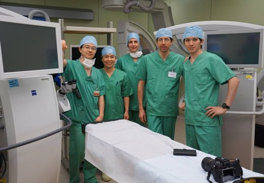 ベルギーでの招聘手術 Invited Surgery @ AZ Sint-Maarten Hospital, Belgium