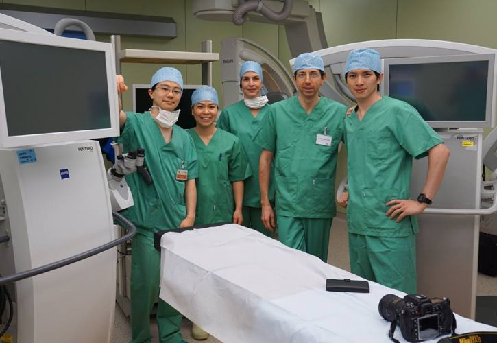 ベルギーでの招聘手術 Invited Surgery @ AZ Sint-Maarten Hospital, Belgium