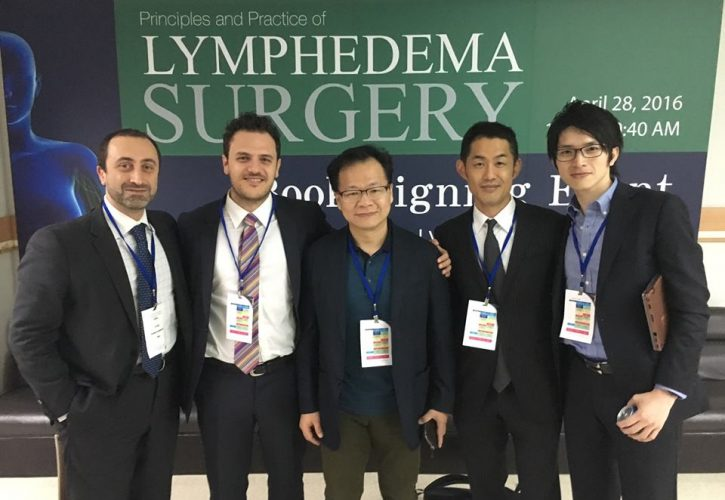 台湾での国際学会にて手術・発表 The 5th World Symposium for Lymphedema Surgery