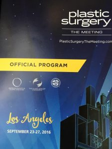 The Plastic Surgery Meeting 2016(ASPS)@LA, US(September 23-26)