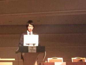 日本乳房オンコプラスティックサージャリー学会でのハンズオンセミナー登壇の様子 delivering a lecture at the 4th Congress of Japan Oncoplastic Breast Surgery Society @Hilton Tokyo Bay, Japan(October 6-7)