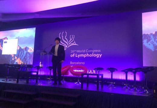 第26回世界リンパ学会にて登壇中 delivering a lecture at the 26th World Congress of Lymphology (@ Barcelona, Sep 25-29)
