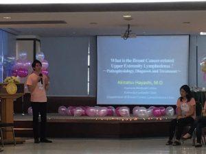 タイ・バンコク病院とタマサート大学にて講演時