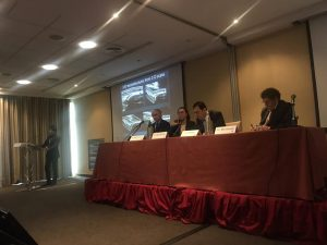 イタリアの国際学会にて講演時パネリスト