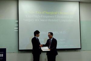 第1回アジア外科超音波学会にて講演時