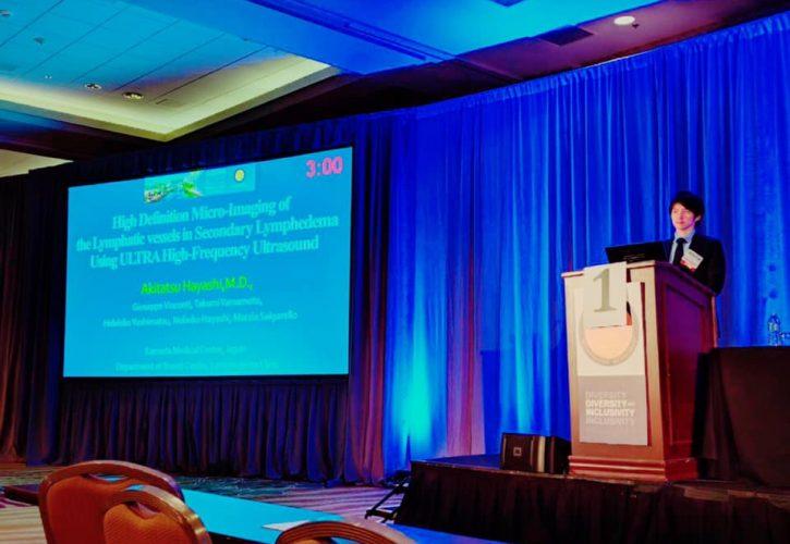 米国マイクロサージェリー学会議にて発表