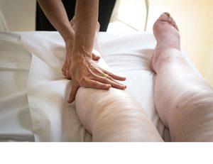 リンパ浮腫《保存的治療》:医療徒手リンパドレナージイメージ