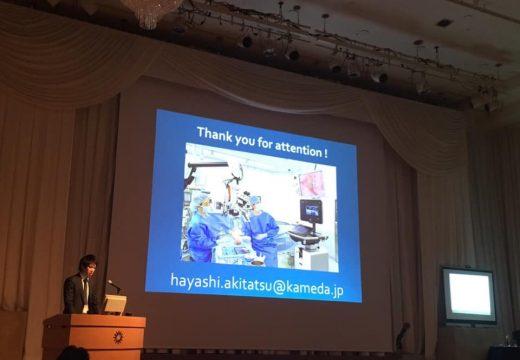 日本形成外科学会学術集会@札幌 講演の様子