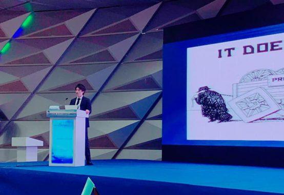 中国・大連にて keynote lecture発表