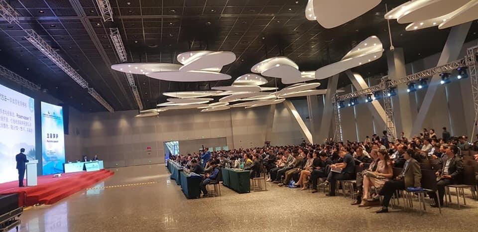 中国・大連にて keynote lectur 会場風景