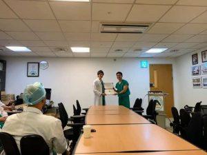 ソウル アサン病院にて講義・ライヴデモ・手術参加