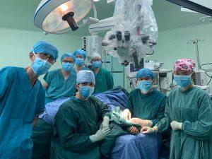 中国福建省での招聘手術 手術室