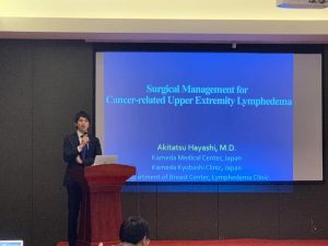 中国福建省での招聘手術 講演の様子