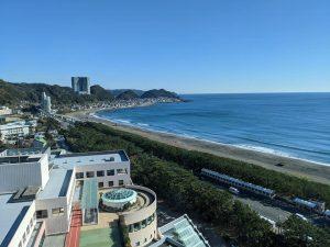亀田総合病院からの眺め 海