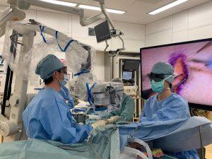 2021年最初の招聘手術 手術の様子